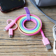 Lisa Angel Fruit Crush Charge and Sync USB Cable