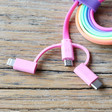 Teens Fruit Crush Charge and Sync USB Cable