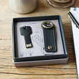 Men's Key Tidy & 16GB Flash Drive Keyring