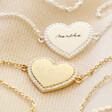 Lisa Angel Ladies' Personalised Diamante Crystal Heart Bracelet