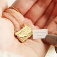 Lisa Angel Personalised Envelope Locket Necklace with Hidden Charm