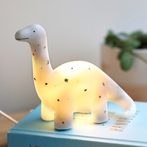 Small Starry Dinosaur LED Night Light