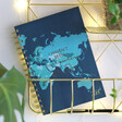 Teen's Personalised 'Everywhere is on My List' Notebook