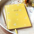 Lisa Angel Ladies' Personalised Yellow Bumblebee Notebook