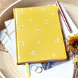 Lisa Angel Ladies' Yellow Bumblebee Notebook