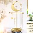 Lisa Angel Gold Moon Jewellery Stand