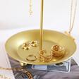 Lisa Angel Gold Moon Jewellery Stand Tray