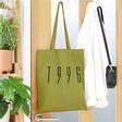 Lisa Angel Ladies' Personalised Bold Name Cotton Tote Bag
