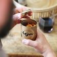 Cajuu Vanilla and Salted Caramel Cashew Nuts with Lisa Angel