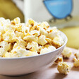 Popcorn set out in a bowl from Popcorn Kitchen at Lisa Angel