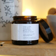 Unisex The Candle Brand Burn + Bloom Norfolk Gin Candle