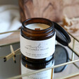The Candle Brand Burn + Bloom Plum and Rhubarb Candle