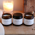 Ladies' The Candle Brand Set of 3 Burn + Bloom Candles