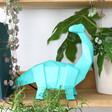 Lisa Angel House of Disaster Nordikka Green Origami Diplodocus Dinosaur Lamp