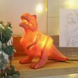 Kids House of Disaster Mini LED Origami T-Rex Dinosaur Night Light
