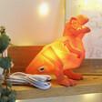 House of Disaster Mini Orange LED T-Rex Dinosaur Lamp at Lisa Angel