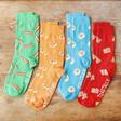Set of Four Breakfast Design Socks