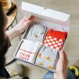 Lisa Angel Four Pairs of Pizza Socks Gift Set