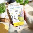 Lisa Angel Mini Meadow Bee Mix Seed Balls and Bamboo Pots Gift Set