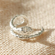 Lisa Angel Tiny Sterling Silver Snake Ear Cuff