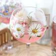 Lisa Angel Special Daisy Balloon Gin Glass