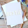 Lisa Angel Ladies' 'Bestie' Greeting Card