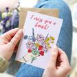 Lisa Angel 'I Miss You a Bunch' Greeting Card