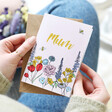 Lisa Angel 'Mum' Wildflower Greeting Card