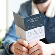 'You're One in a Billion Dad' Father's Day Greeting Card