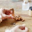 Lisa Angel Copper Dinosaur Ring Holder
