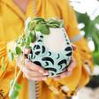 Lisa Angel Ceramic Turquoise Swimsuit Planter