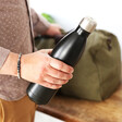 Lisa Angel 'Hot and Cool' Stainless Steel Travel Bottle in Black