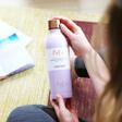 Lisa Angel Root7 Stainless Steel Water Bottle in Parma Purple