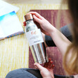 Lisa Angel Root7 Stainless Steel Water Bottle in Polished Steel