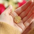 Lisa Angel Ladies' Personalised Wildflower Necklace with Real Seed Card