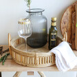Big Rattan Serving Tray