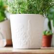 Lisa Angel Personalised Ceramic Wildflower Planter