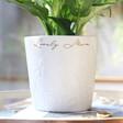 Lisa Angel Ladies' Personalised Ceramic Raised Wildflower Planter