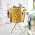Lisa Angel Yellow Bee Print Mini Planter with Stand