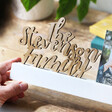 Lisa Angel Special Family Name Cut Out Wording 4
