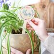 Lisa Angel Printed Personalised 'Mum' Wooden Plant Sign