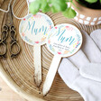 Lisa Angel Colourful Personalised 'Mum' Wooden Plant Sign