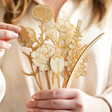 Lisa Angel Ladies' Personalised Wooden Flower Bouquet Letterbox Gift