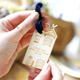 Lisa Angel Personalised Wooden House Hanging Decoration