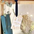 Lisa Angel Ladies' Personalised Wooden House Hanging Decoration