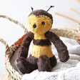 Lisa Angel with Jellycat Bashful Bee Soft Toy