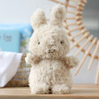 Lisa Angel with Cute Jellycat Little Bunny Soft Toy