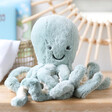 Lisa Angel with Jellycat Odyssey Octopus Soft Toy