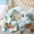 Lisa Angel with Fluffy Jellycat Odyssey Octopus Soft Toy