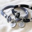 Lisa Angel Personalised Sentimental Men's Rope and Anchor Bracelets
